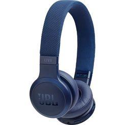 jbl »live 400 bt« on-ear-koptelefoon (siri, alexa, google assistant, bluetooth) blauw
