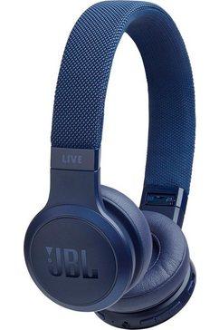 jbl on-ear-hoofdtelefoon live 400 bt blauw