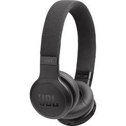 jbl »live 400 bt« on-ear-koptelefoon (siri, alexa, google assistant, bluetooth) zwart