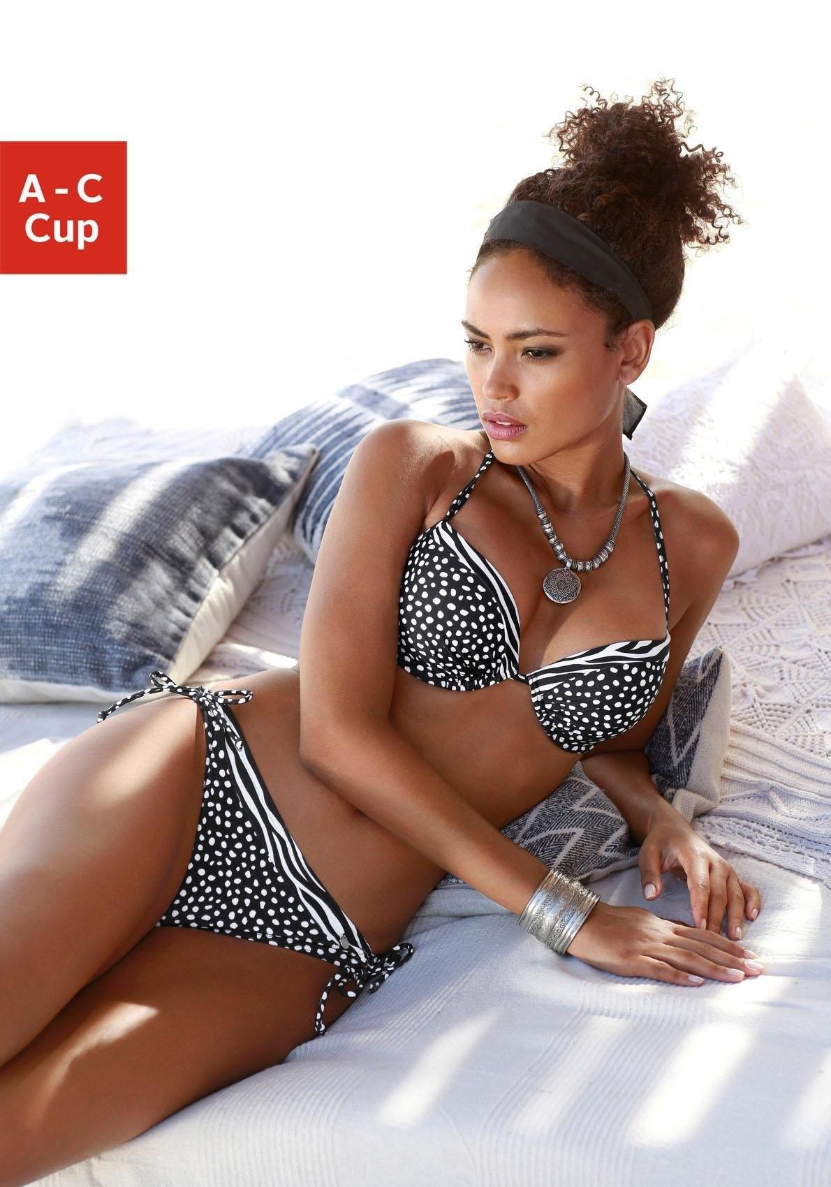 LASCANA push-up-bikinibovenstukje »Safari« veilig op otto.nl kopen