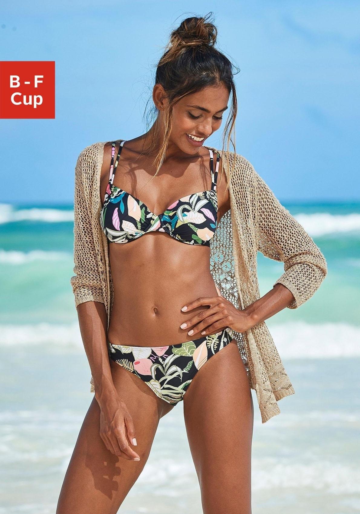 s.Oliver RED LABEL Beachwear Bikinitop met beugels Herfst met uitneembare vullingen - verschillende betaalmethodes