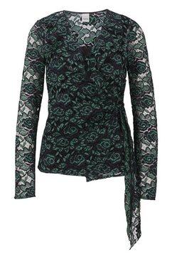 kanten blouse groen