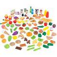 kidkraft speellevensmiddelen set van kunststof (115 delig) multicolor