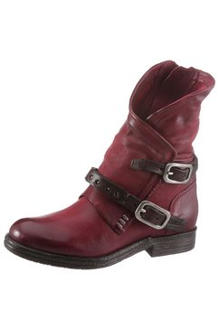 a.s.98 bikerboots rood
