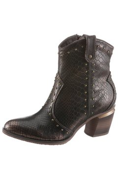 mustang shoes cowboylaarsjes bruin
