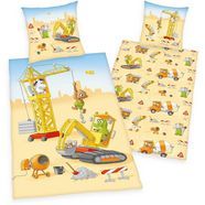 """herding young collection kinderovertrekset »""""baustelle""""«, herding young collection bruin"""