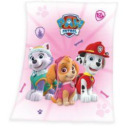 paw patrol kinderdeken »paw patrol« roze