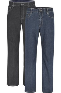 jan vanderstorm jeans met elastische band « (packung, 2er-pack) multicolor