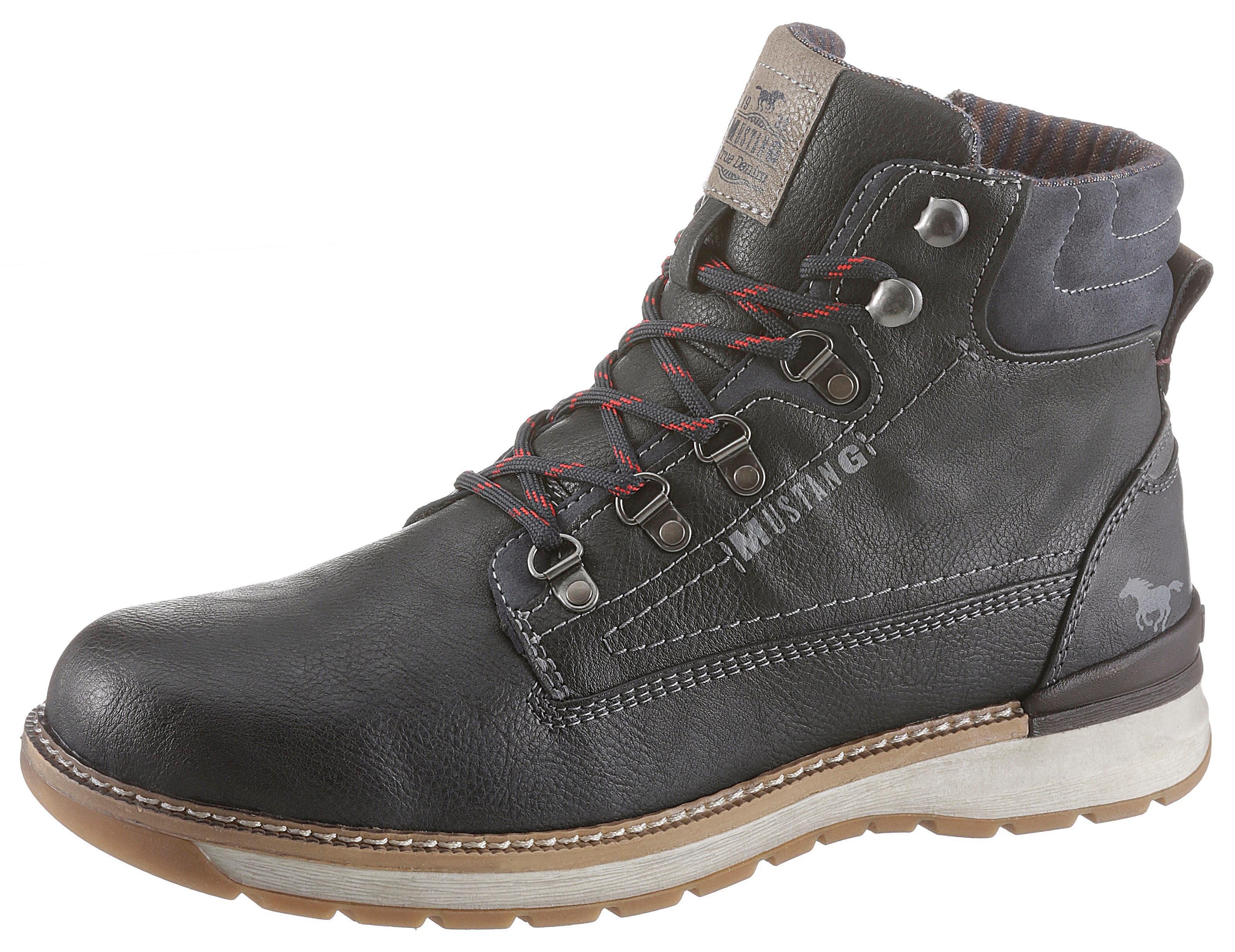 Mustang Shoes hoge veterschoenen - gratis ruilen op otto.nl