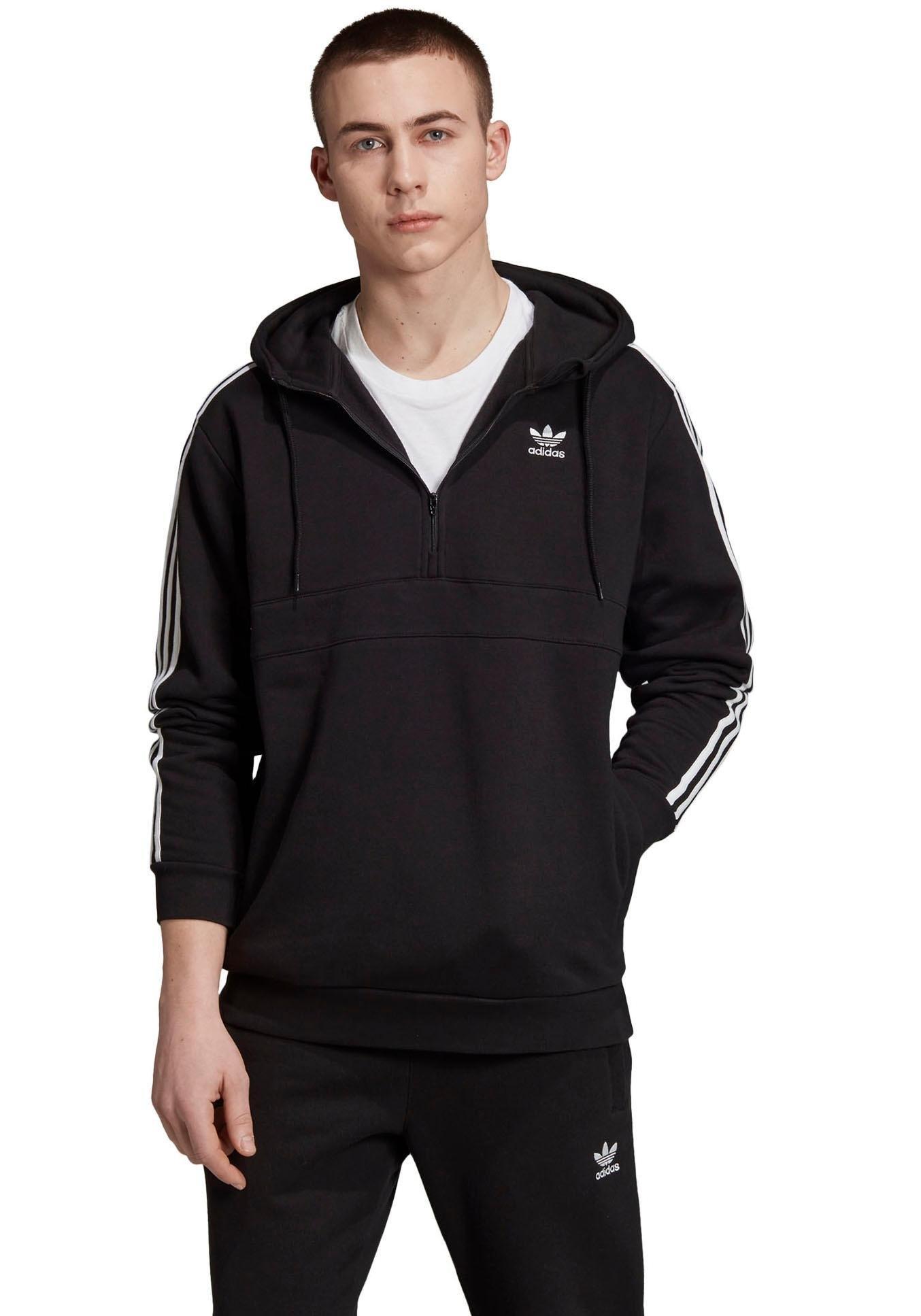 adidas Originals hoodie »3 STRIPES HALF ZIP« bestellen: 14 dagen bedenktijd