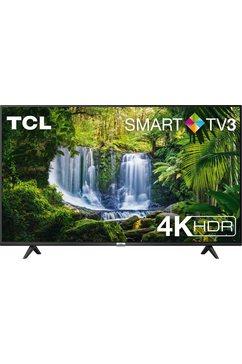 "tcl led-tv 55p611x1, 139 cm - 55 "", 4k ultra hd, smart-tv zwart"