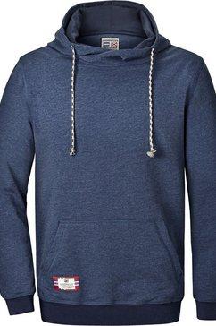 jan vanderstorm sweatshirt »blankard« blauw