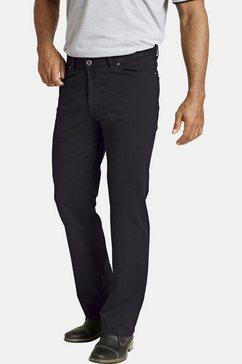 jan vanderstorm five-pocketsbroek teja aangenaam katoenmengsel (set van 2) zwart