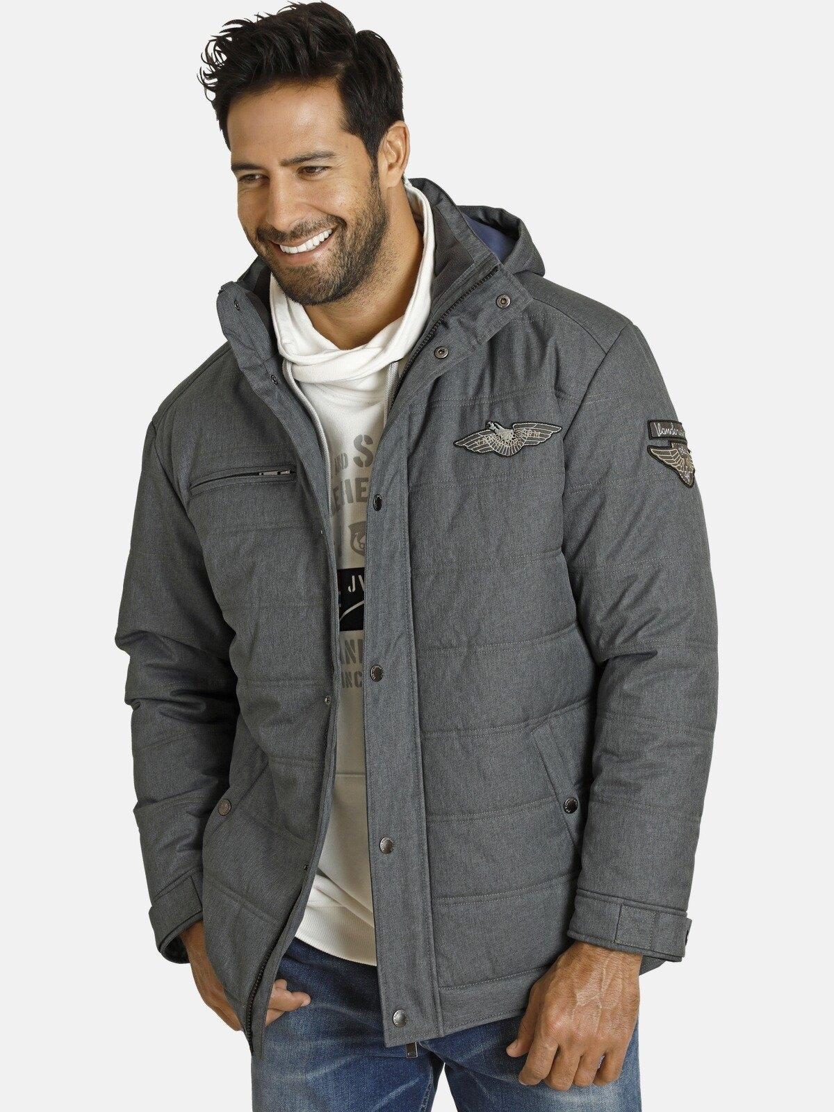 Jan Vanderstorm winterjack JUHAPEKKA warme gewatteerde jas in de webshop van OTTO kopen