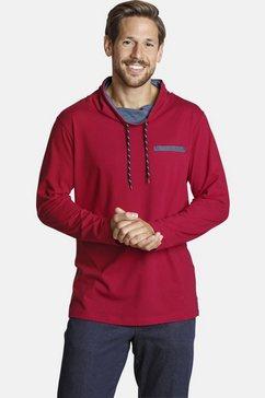 jan vanderstorm shirt met lange mouwen â»morvinâ« rood