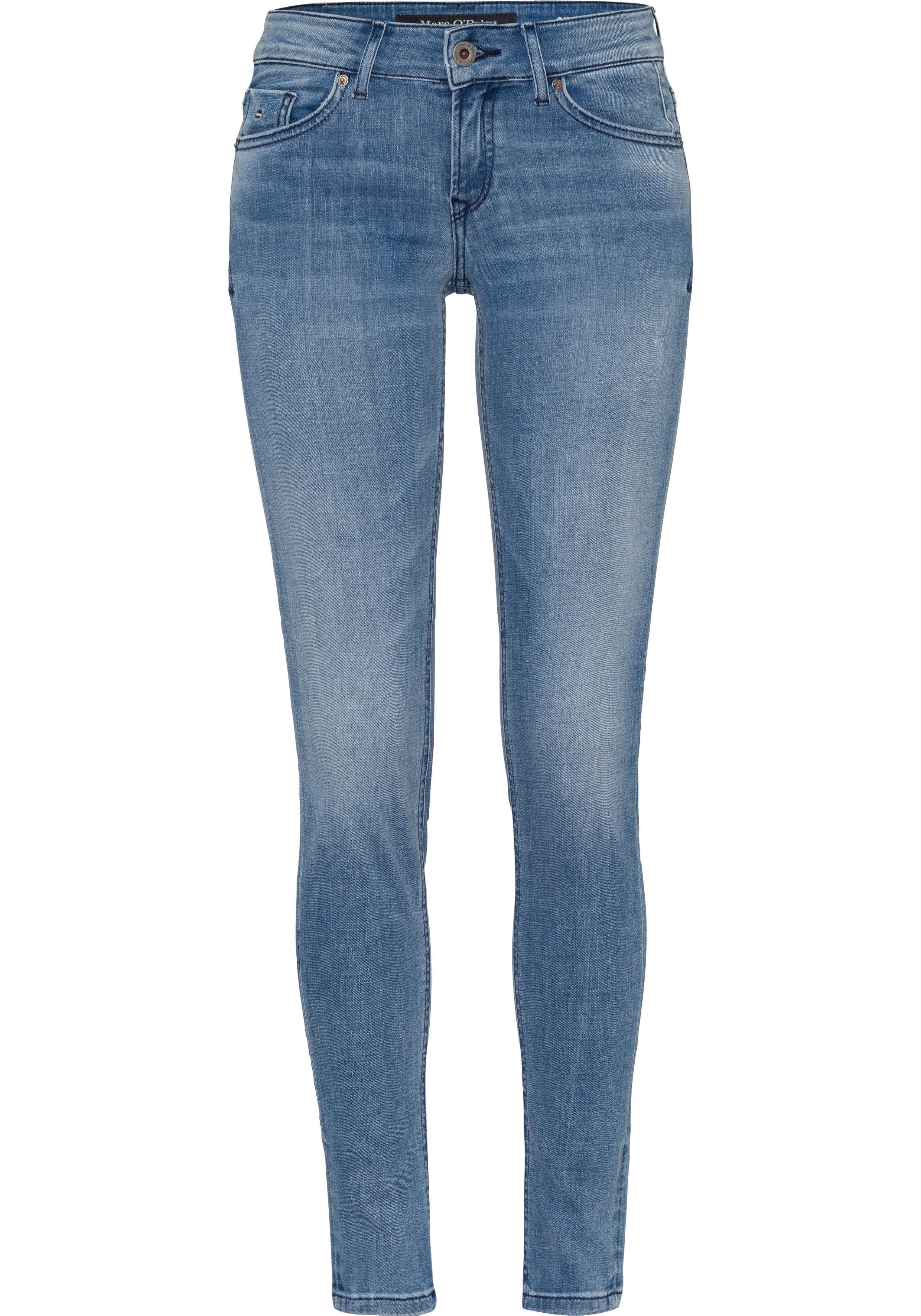 Marc O'Polo 5-pocket jeans »Skara Slim« nu online kopen bij OTTO