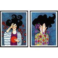 poster »huelya - augenblicke« multicolor