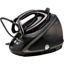 tefal stoomstrijksysteem gv9610 pro express ultimate plus, 1900 ml, 2600 watt zwart