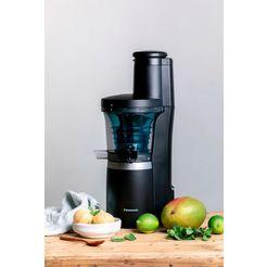 panasonic slow juicer mj-l700kxe, 150 watt zwart