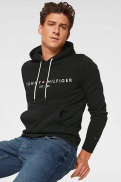tommy hilfiger hoodie »tommy logo hoody« zwart