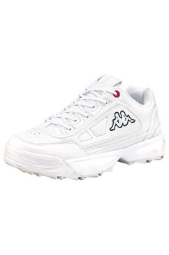 kappa sneakers »rave nc« wit