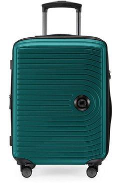 hauptstadtkoffer hardshell-trolley midden, turquoise, 55 cm groen
