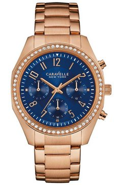 caravelle new york chronograaf »44l196« goud