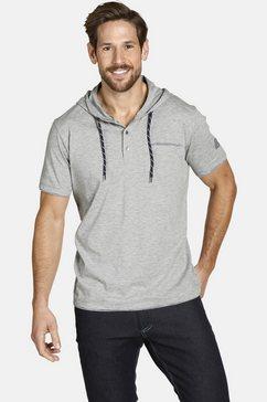 jan vanderstorm shirt met capuchon â»offeâ« grijs