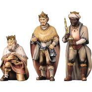 ulpe woodart-kribbefiguur »heilige drie koningen« (3-delige set) multicolor