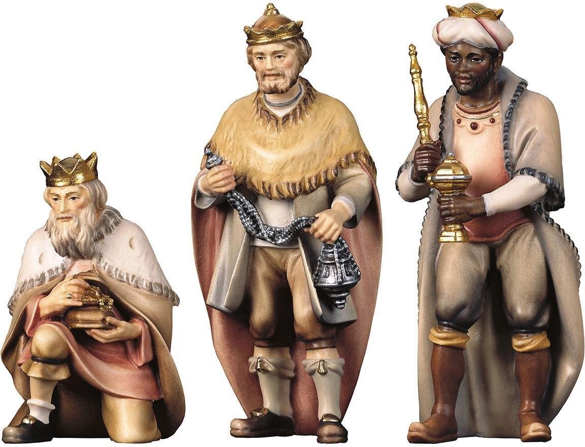 ULPE WOODART kribbefiguur Hl. Drie koningen Handwerk, hoogwaardig houtsnijwerk (set, 3 stuks) goedkoop op otto.nl kopen