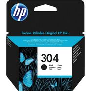 hp inktpatroon hp 304 cartridge n9k05ae zwart zwart