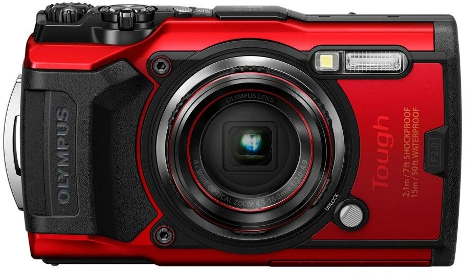 Olympus »Tough TG-6« outdoorcamera (12 MP, 4x optische zoom, wifi) - verschillende betaalmethodes