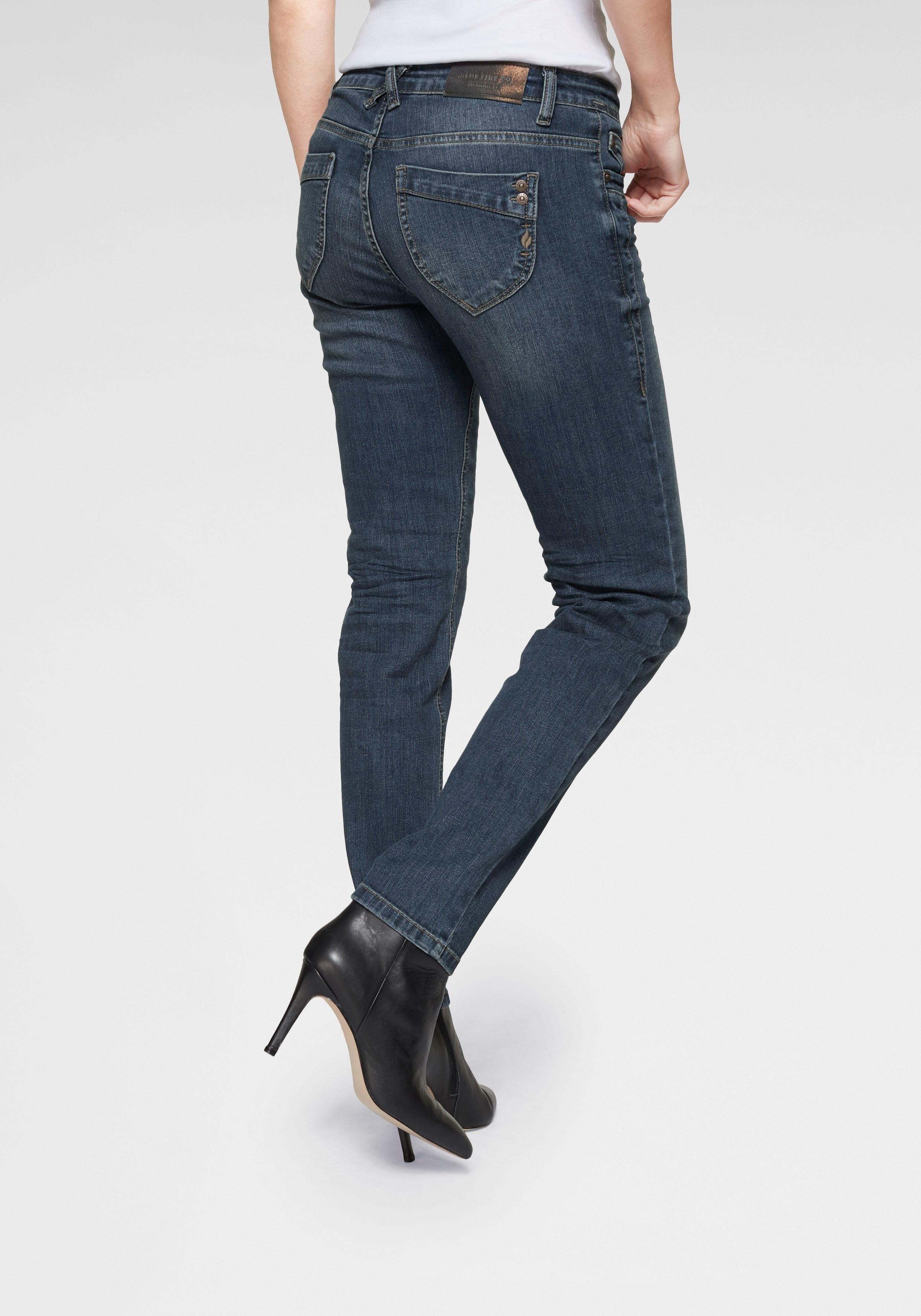 Blue Fire slim fit jeans »NANCY« online kopen op otto.nl