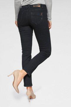 blue fire slim fit jeans »nancy« blauw