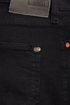 mustang jeans »oregon tapered« zwart