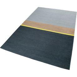 vloerkleed, »midas kelim«, esprit, rechthoekig, hoogte 5 mm, handgeweven grijs