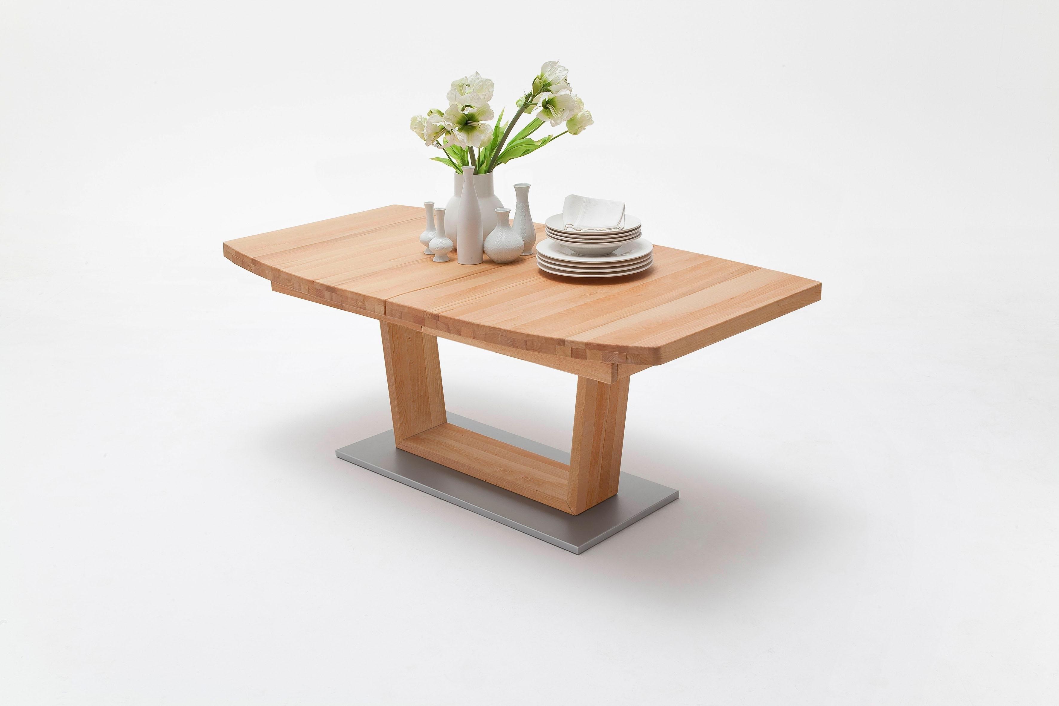 MCA furniture Eettafel Cantania B Massief houten tafel met uittrekfunctie nu online kopen bij OTTO