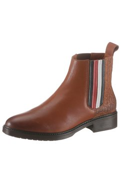 tommy hilfiger chelsea-boots »hatty 7c« bruin