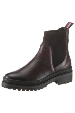 tommy hilfiger boots zonder sluiting »north 4c« bruin