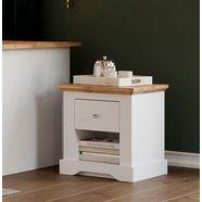 home affaire nachtkastje teverton van fsc-gecertificeerd houtmateriaal wit