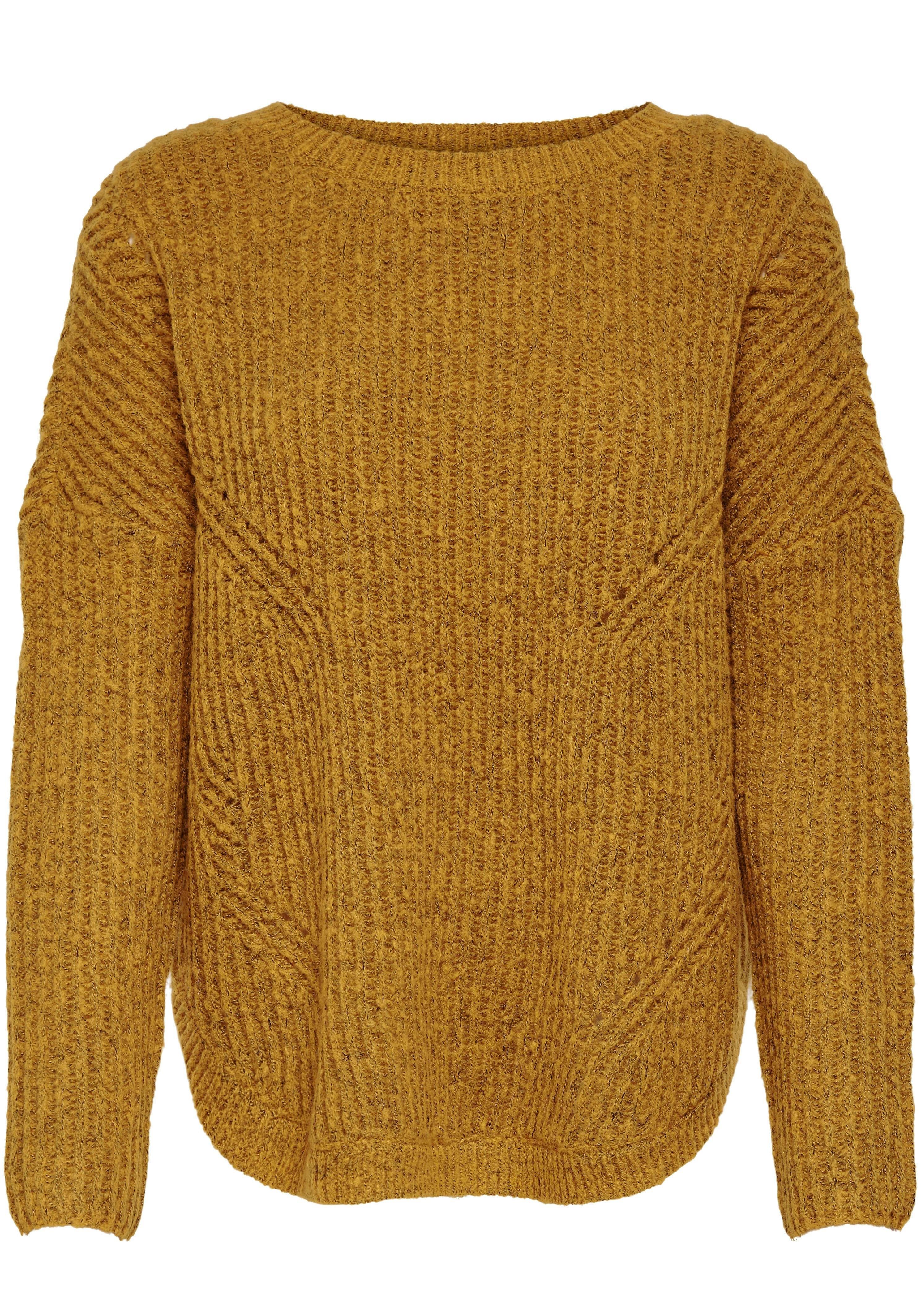 ONLY trui met ronde hals »BERNICE« voordelig en veilig online kopen