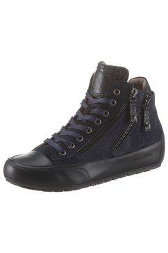 candice cooper sneakers »lucia zip« blauw