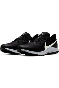 nike runningschoenen »air zoom pegasus 36 trail« zwart
