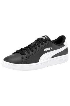 puma sneakers »smash v2 l jr« zwart