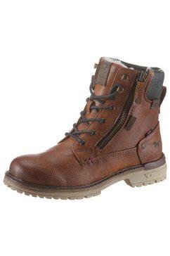 mustang shoes veterlaarzen bruin