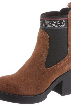tommy jeans chelsea-boots »lynn 3b« bruin