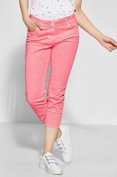 cecil slim fit jeans oranje