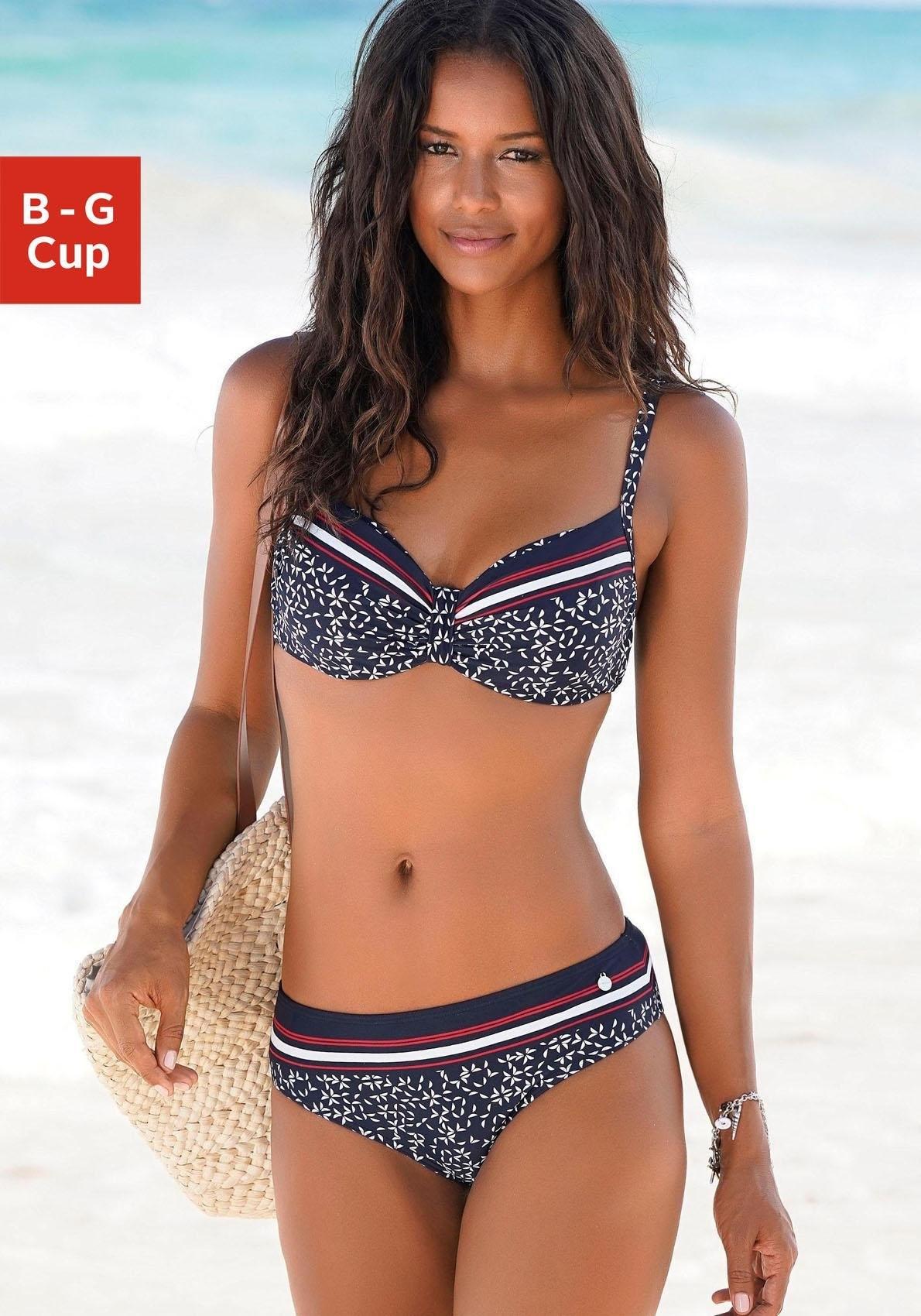 LASCANA bikinitop met beugels »Minimal« - verschillende betaalmethodes