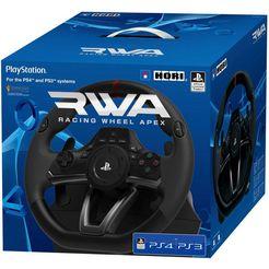 »ps4 rwa: racing wheel apex« gaming-stuur zwart
