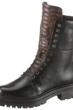 mjus hoge veterschoenen zwart